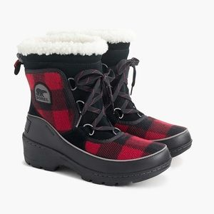 J. Crew X Women's Sorel Tivoli III Boots NIB